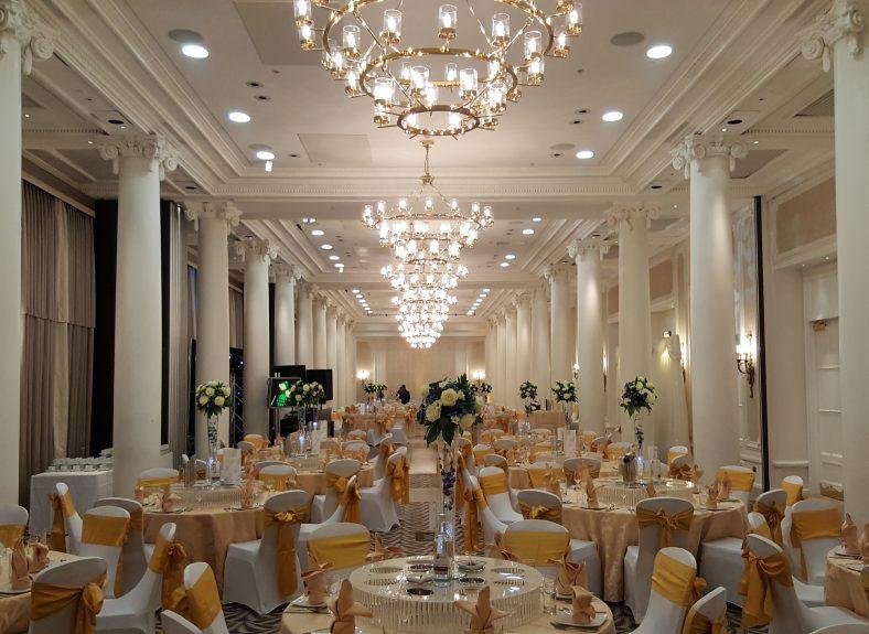 Adelphi Wedding setup 2